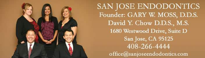 San Jose Endodontics, Dr. Gary W. Moss and Dr. David Y. Chow